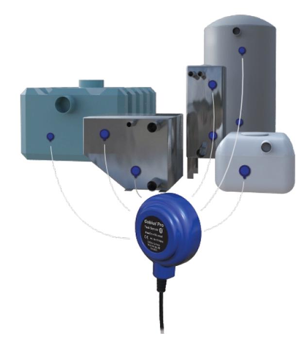 Gobius Pro Single Bluetooth Sensor Kit - 2 Levels-87