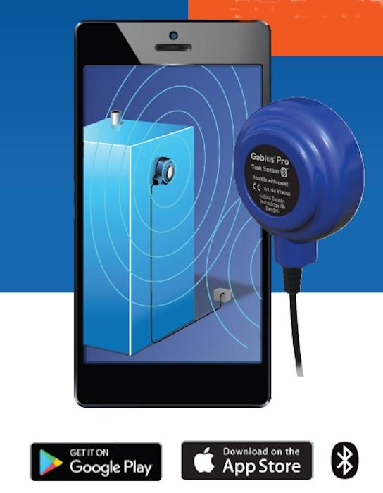 Gobius Pro Single Bluetooth Sensor Kit - 2 Levels-90